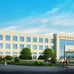 厂房办公大楼模型3d模型