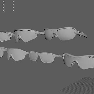 眼镜组合模型