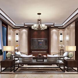 现代客厅春秋椅模型