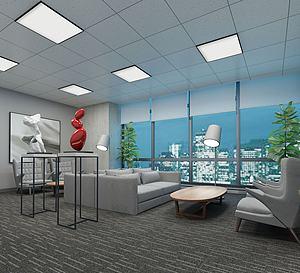 现在会议室3d模型