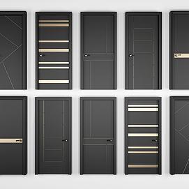 现代单开门组合模型