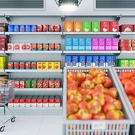 現代超市模型