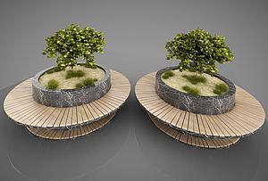 3d花园景观<font class='myIsRed'>园林</font>小品模型