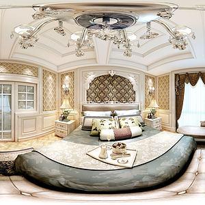 歐式客廳3d模型