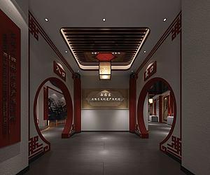 民俗文化展厅3d模型