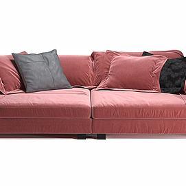 ?#23478;?#21452;人沙发模型