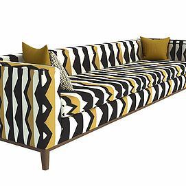 现代简约沙发模型