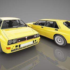 现代小汽车模型