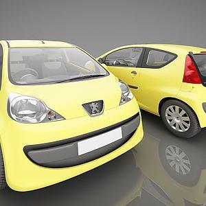 标志品牌小汽车模型