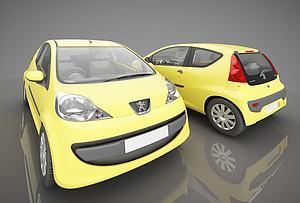 3d标志品牌<font class='myIsRed'>小汽车</font>模型