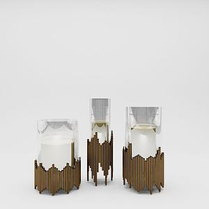 3d創意<font class='myIsRed'>花瓶</font>擺件工藝品模型