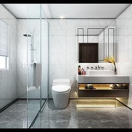 酒店卫生间模型