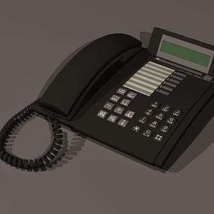 老式电话模型