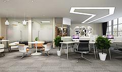 办公室休息区桌椅模型3d模型