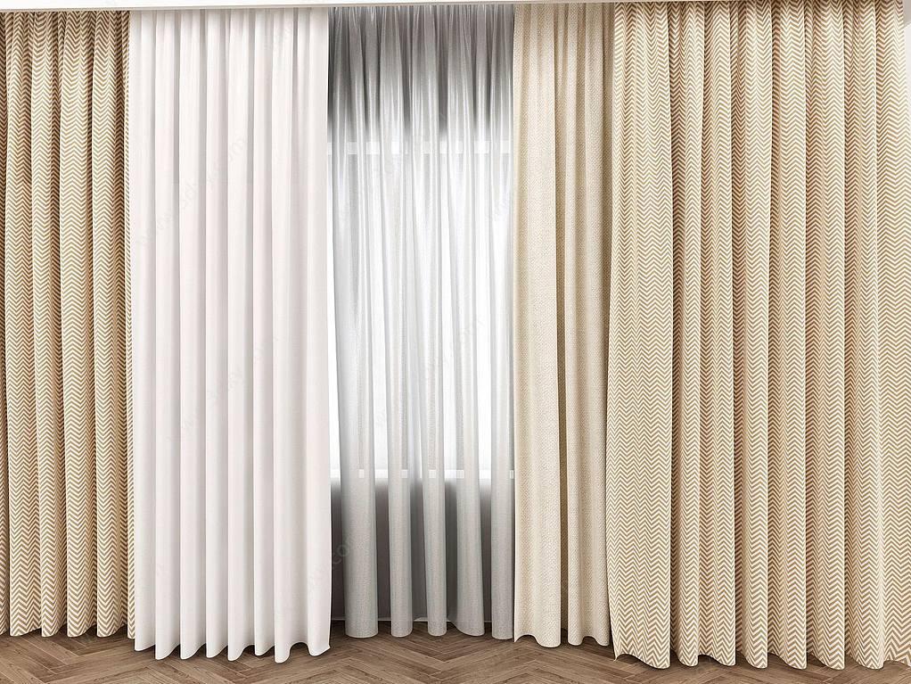 现代纺织布艺窗帘