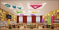 幼儿园教室3d模型