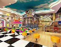 幼儿园儿童娱乐场所3d模型