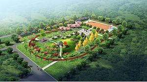公園景觀模型3d模型