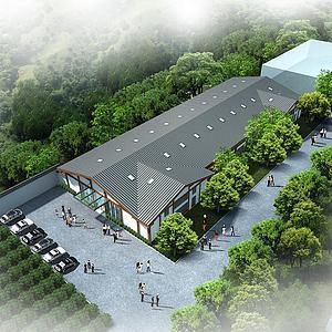 民宿酒店模型3d模型