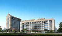 现代建筑办公楼3d模型
