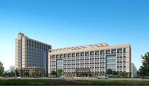 現代建筑辦公樓模型3d模型