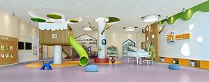 儿童娱乐区3d模型