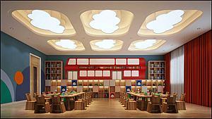 幼儿园教室儿童娱乐室3d模型