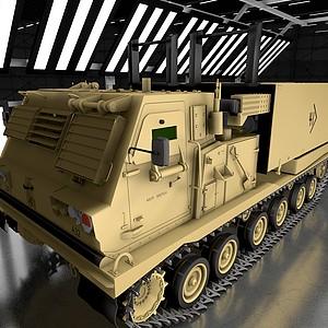 坦克裝甲車戰斗車模型3d模型