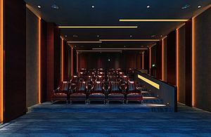 电影院座椅3d模型