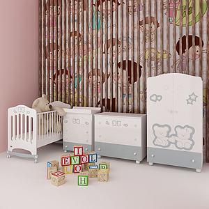 儿童玩具儿童房模型3d模型