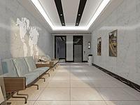 大厅走廊电梯间3d模型