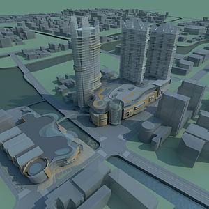 现代城市模型