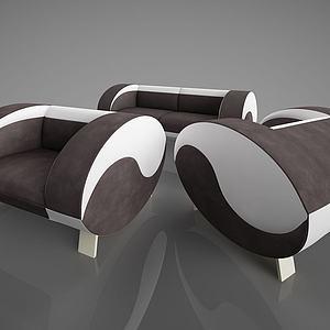 组合沙发模型