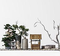 园林景观摆设3d模型