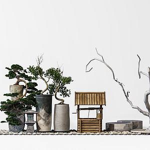 园林景观摆设模型
