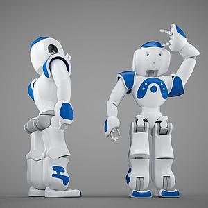 3d小<font class='myIsRed'>機器人</font>模型