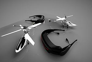 小飛機模型3d模型