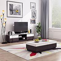 现代电视柜茶几壁画3d模型