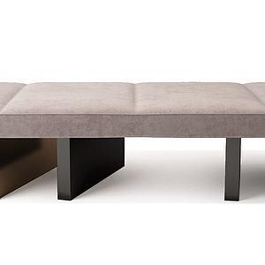 凳榻沙发榻模型