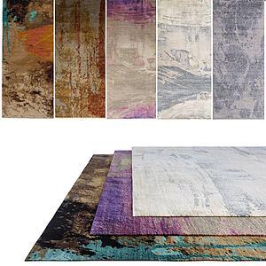 花式地毯组合模型