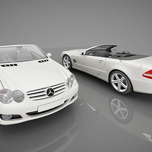 现代奔驰小汽车模型
