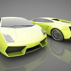 现代跑车模型