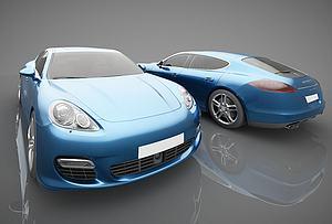 新款汽车模型3d模型