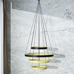 创意吊灯模型