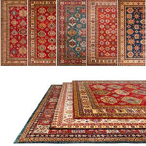 花色图案地毯模型