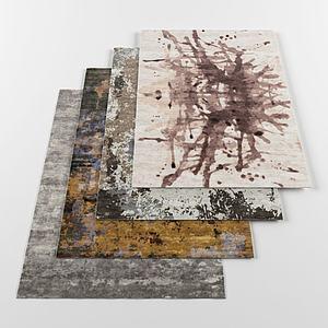 创意地毯模型