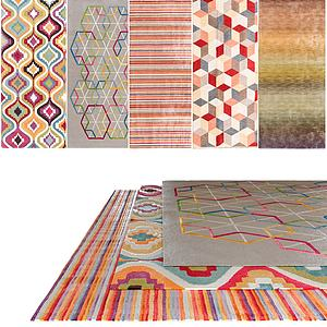花色地毯组合模型