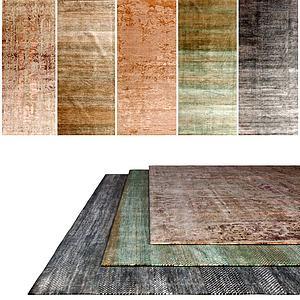 现代地毯3d模型