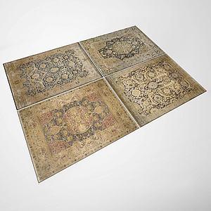 花式地毯模型