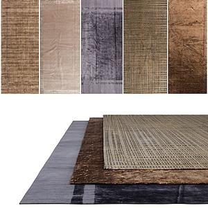 中式地毯3d模型